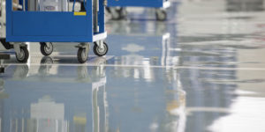 Epoxy floor uses in Hartford