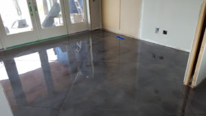 Repair work completed on epoxy floor in Hartford by Hartford Epoxy Flooring