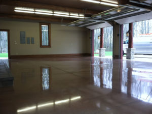 Polished Epoxy Garage Floor in Hartford created by Hartford Epoxy Flooring